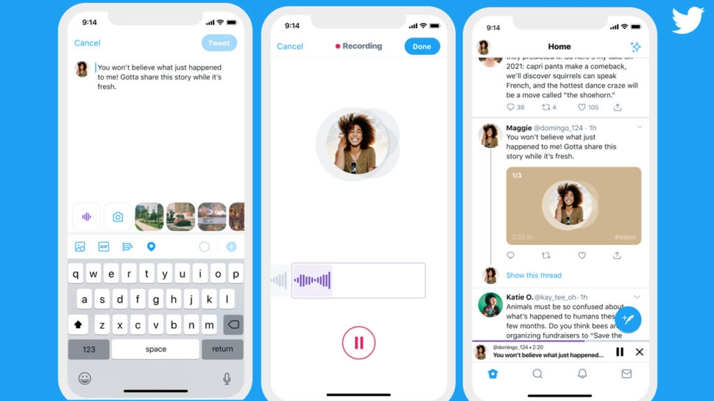 Voila! Audio Tweets are the Next New Feature on Twitter for iOS