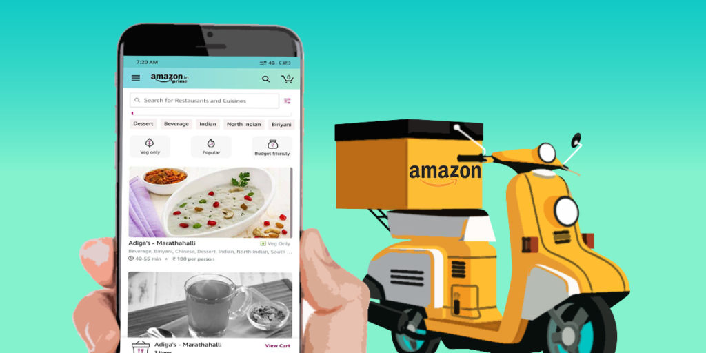 amazon food delivery in bengaluru