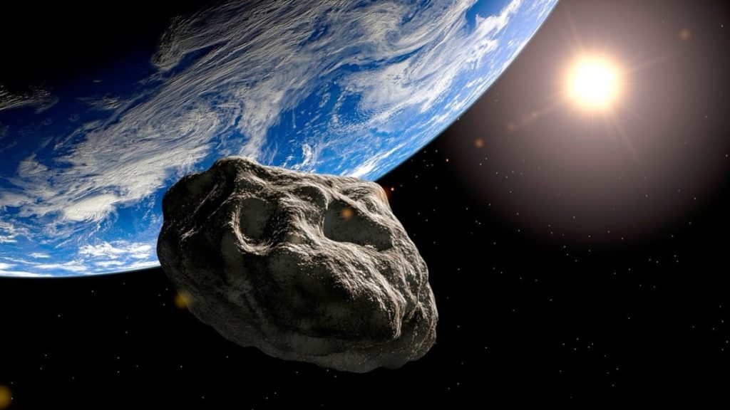 asteroid passing by earth