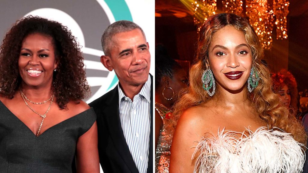 barack and michelle obama and beyonce   getty   split   h 2020