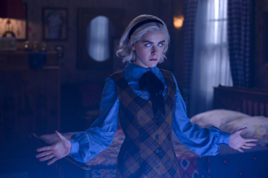 netflix tv show / chilling adventures of sabrina