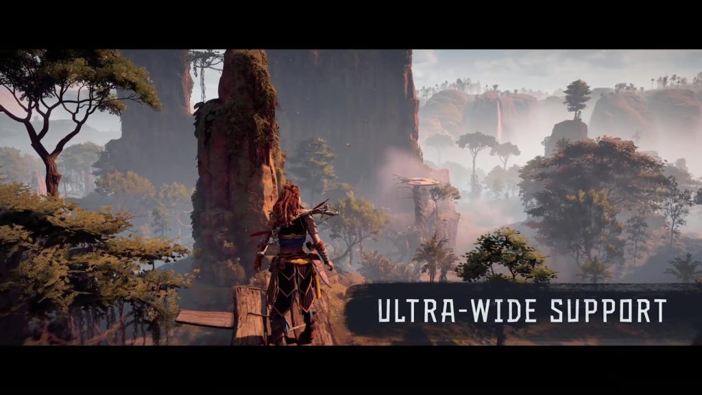 Horizon Zero Dawn PC Ultra-Wide Support