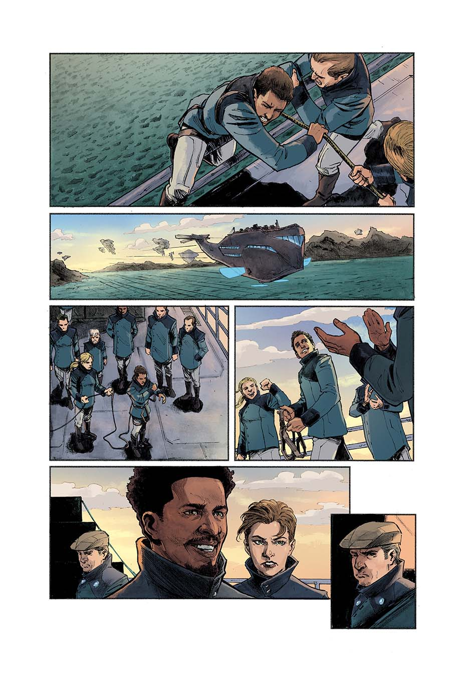 'The Count of Monte Cristo' 1844 Comic Book- Reimagining in Works