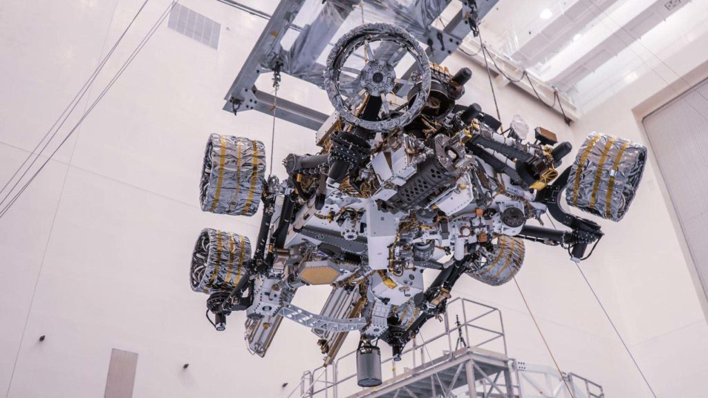 NASA's Mars 'Perseverance' Rover Has Now Been Launched