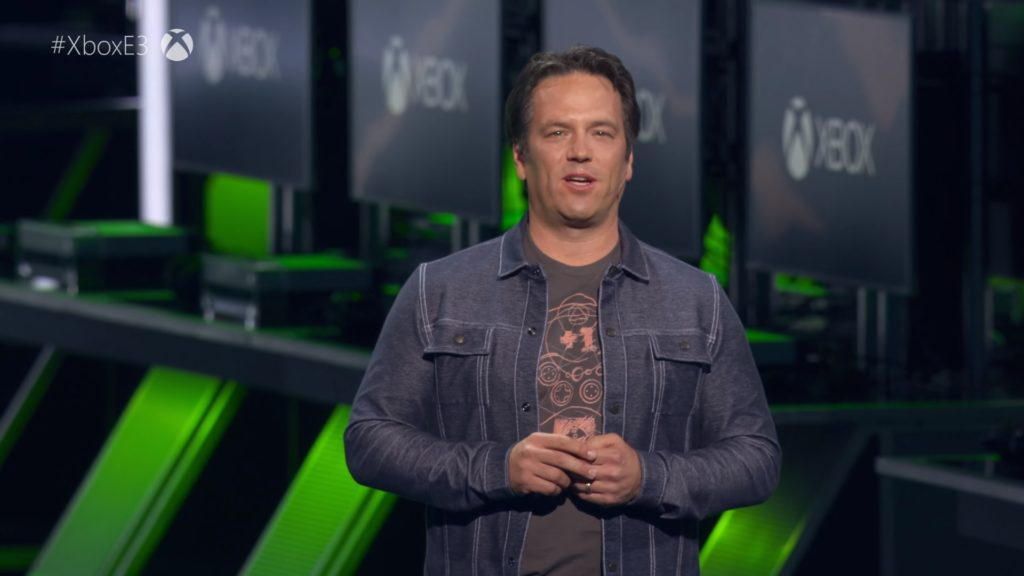 Phil Spencer at Xbox E3 2018