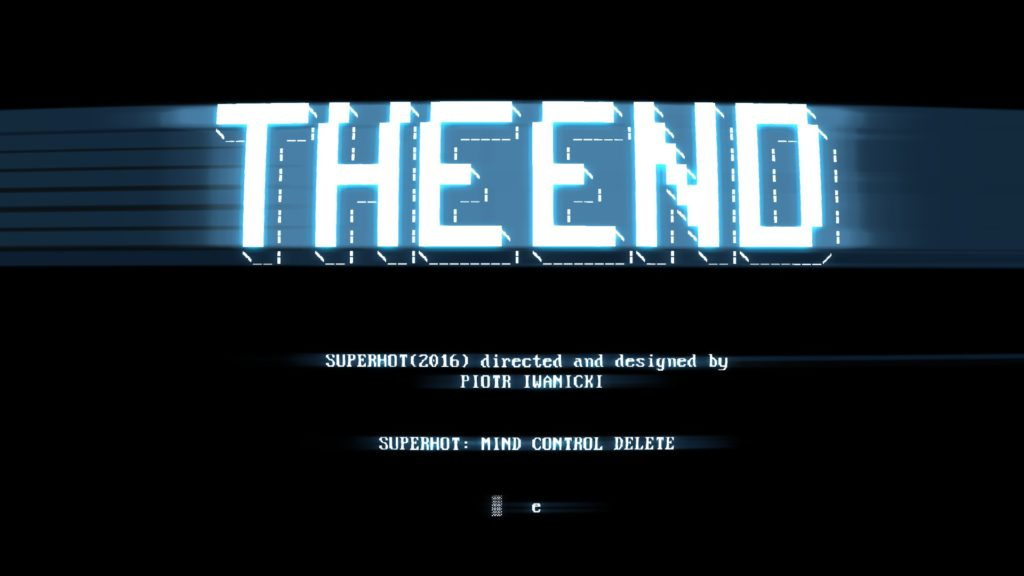 Superhot Mind Control Delete End Credits