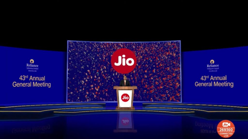 Reliance Jio Glass