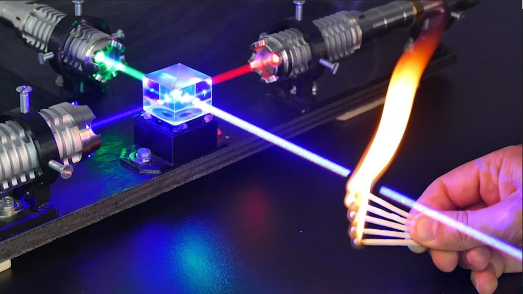 A Powerful Laser to Investigate a New Kind of Physics