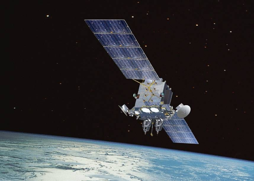 The magnetic field provides essential cover for the satellites.
