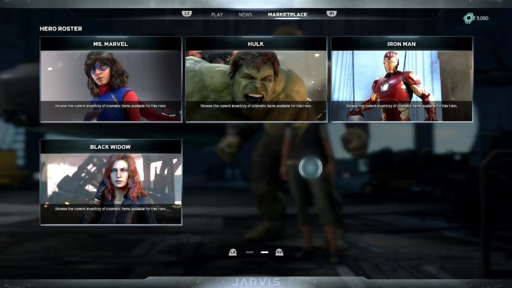 Avengers Warzone characters