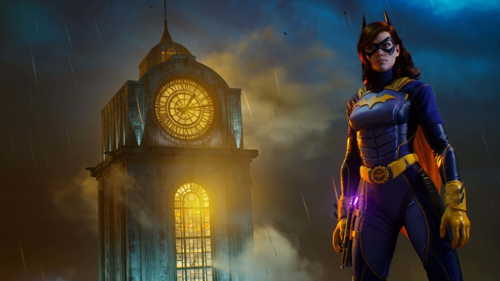 Batgirl in Gotham Knights