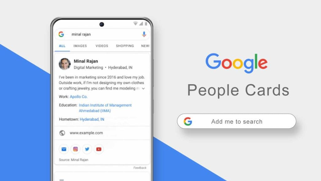Google Rolls Out 'People Cards' Feature That Helps One Have a Public Profile on Google