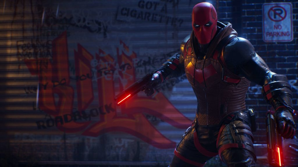 Red Hood in Gotham Knights