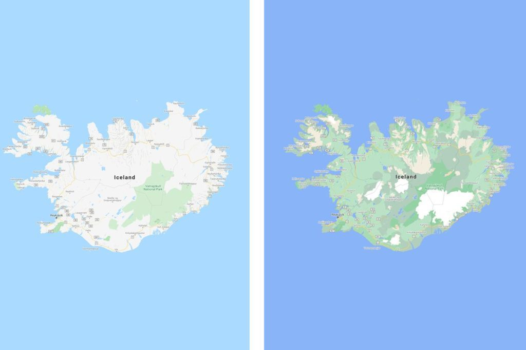Google Maps is a Lot More Detailed and Colourful Now