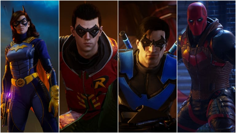Gotham Knights Playable Characters