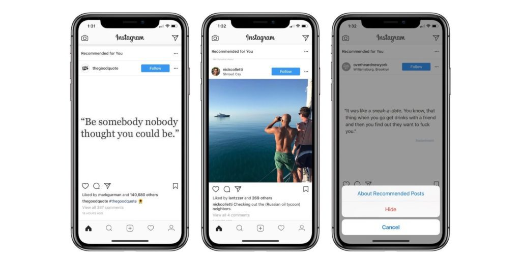 Instagram's 'Suggested Posts' is Here With a Different Kind of Engagement