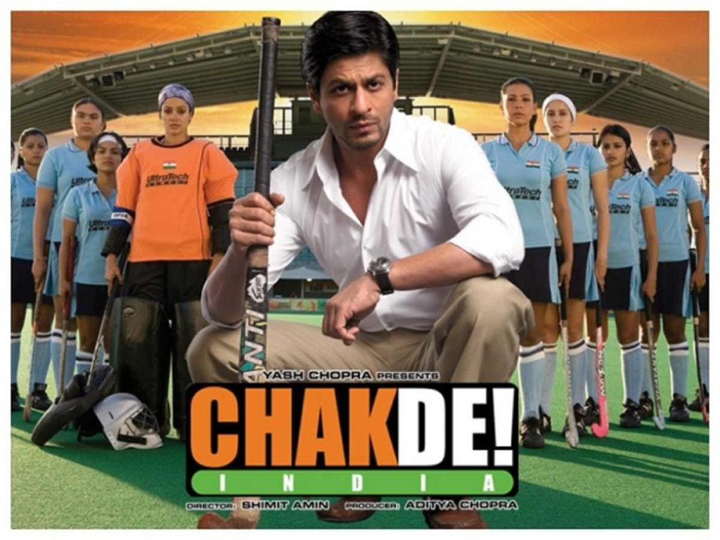 best bollywood sports movies | Chak De India