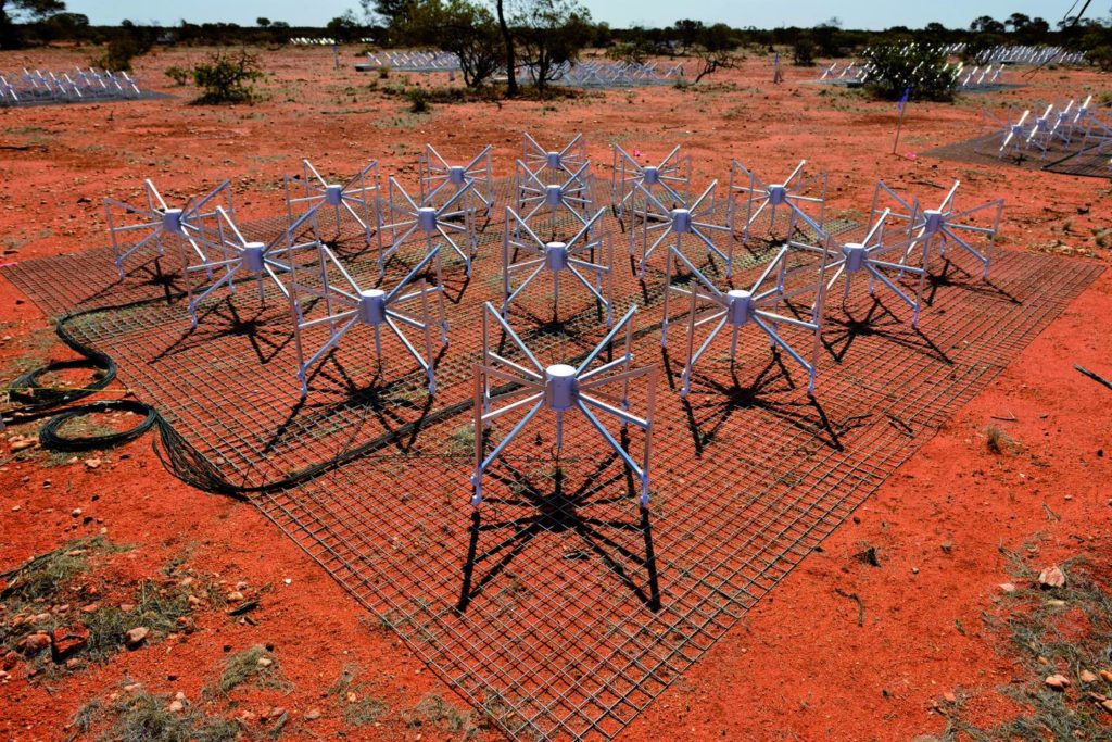 The Murchison Widefield Array which carried out the search for alien technology.