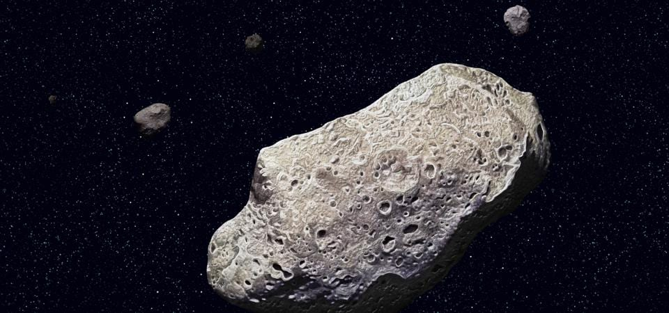 An asteroid of this size is not expected this close to the Sun.