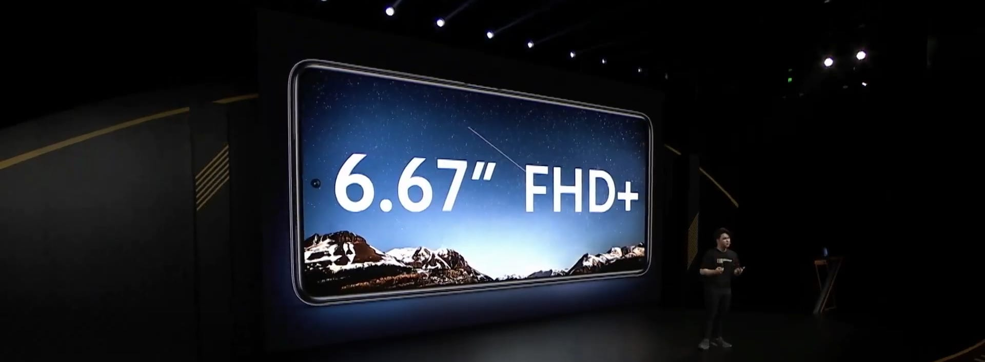 "6.67"" FHD+ Display on POCO X3"