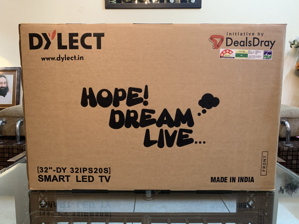 Dylect Smart TV Unboxing