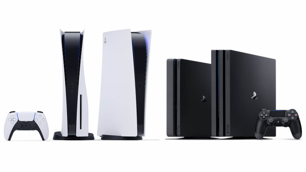 Sony PlayStation Consoles (PS4 and PS5) in India