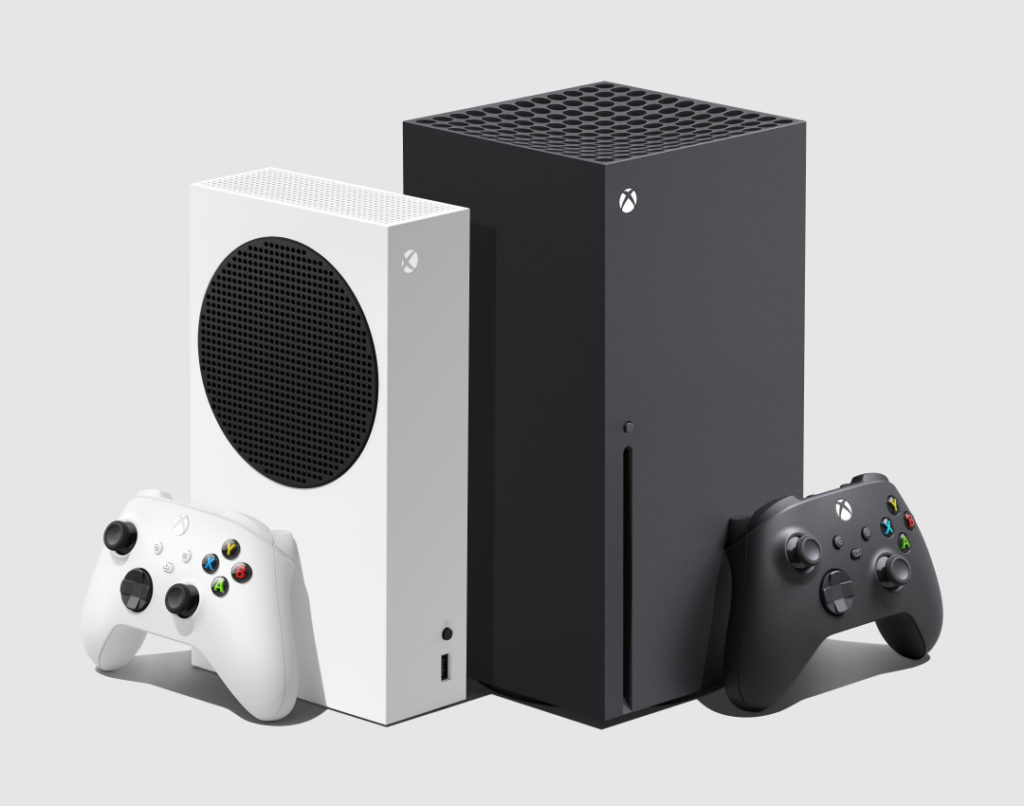 Xbox Series S and Series X side-by-side