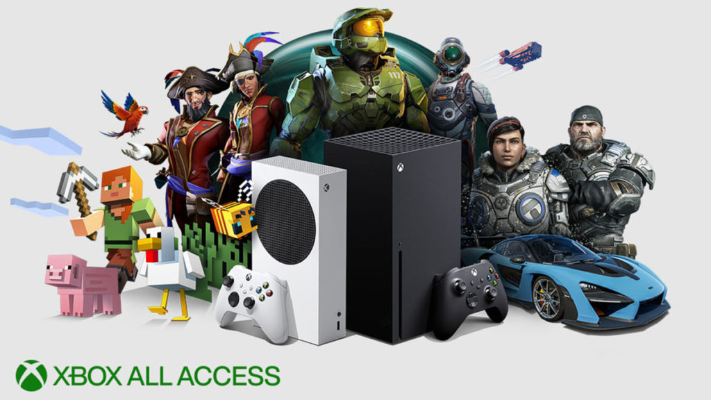 Xbox All Access Monthly Financial Plan