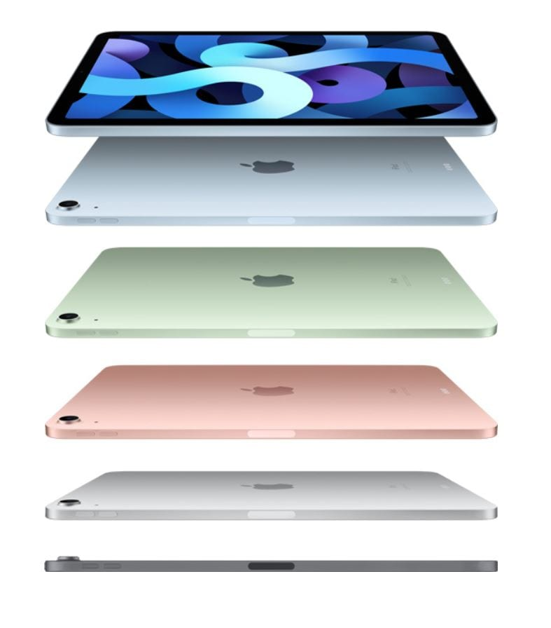 iPad Air new colours