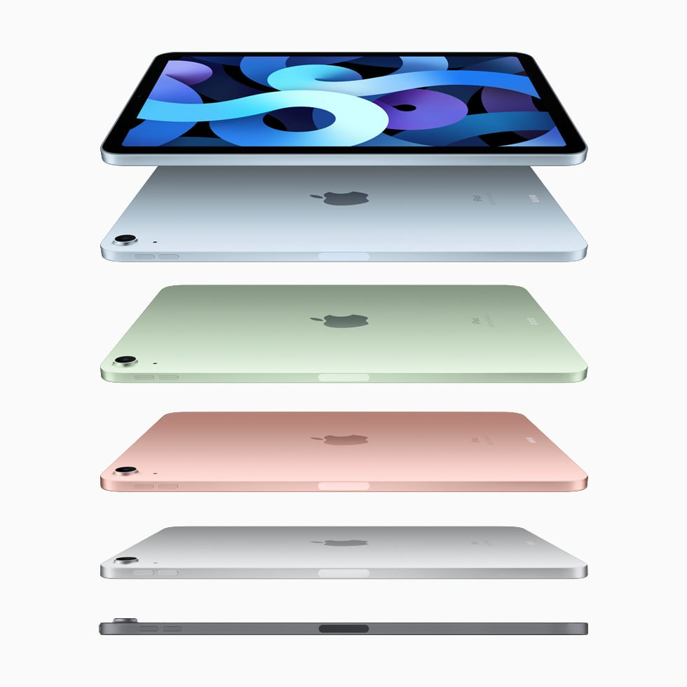 iPad Air 2020 in all colours available