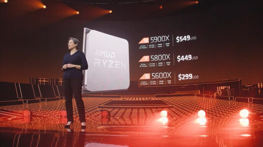 AMD Zen 3 Ryzen 5000 Pricing