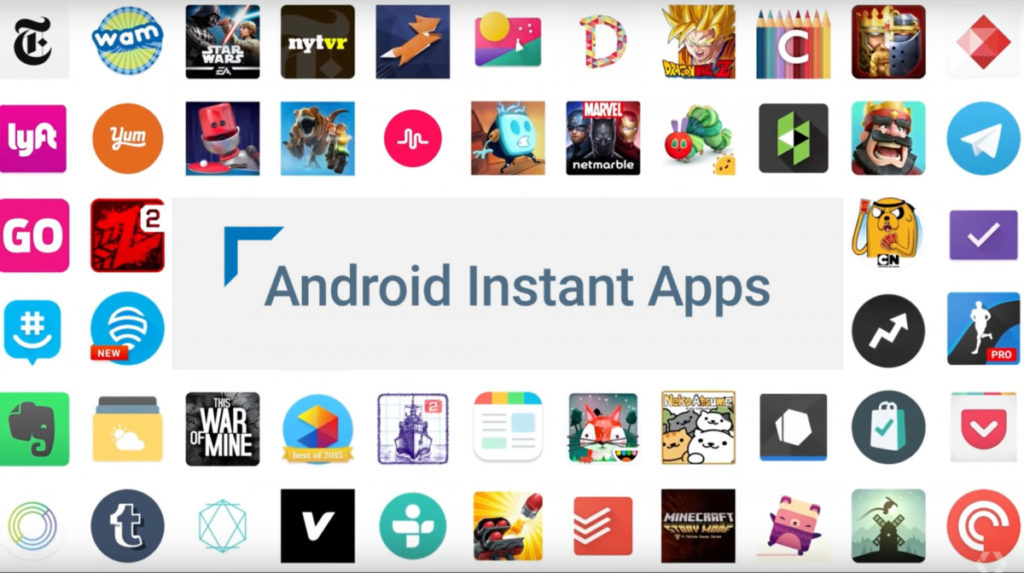 Google's Instant Apps are web-apps