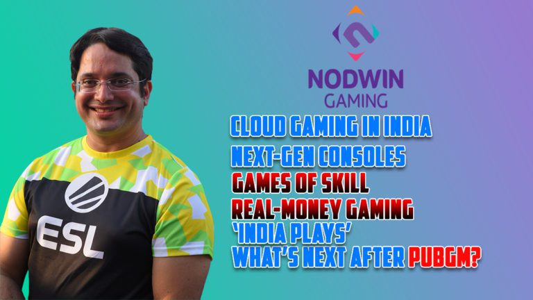 Exclusive Interview With Akshat Rathee, Co-Founder & MD of NODWIN Gaming on PUBG Ban, Cloud Gaming in India, Next-Gen Consoles,  Real Money Gaming and More