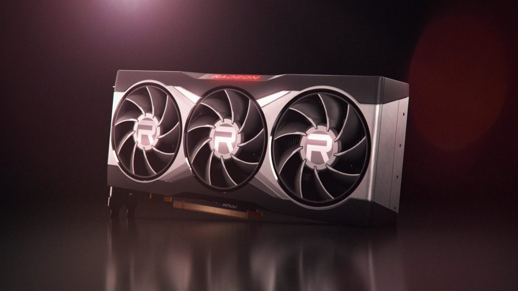 AMD Radeon RX 6800 XT_Front Angle_Black Background