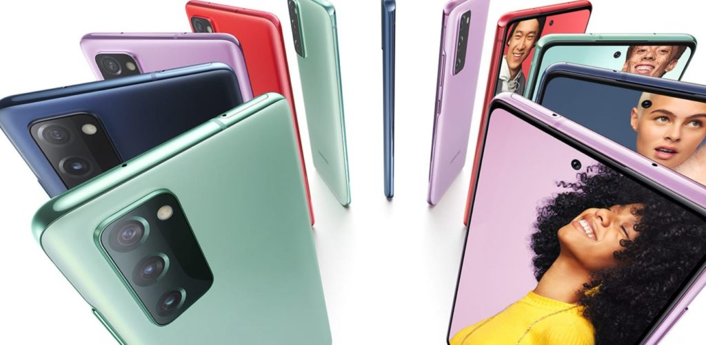 Samsung Galaxy S20 FE is available in 5 colours