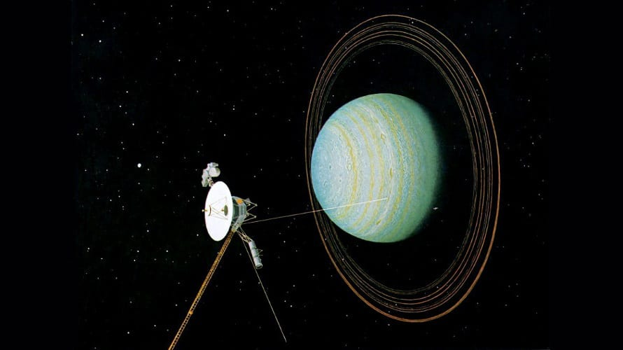 Voyager 2 is one of the farthest travelling probes in space.