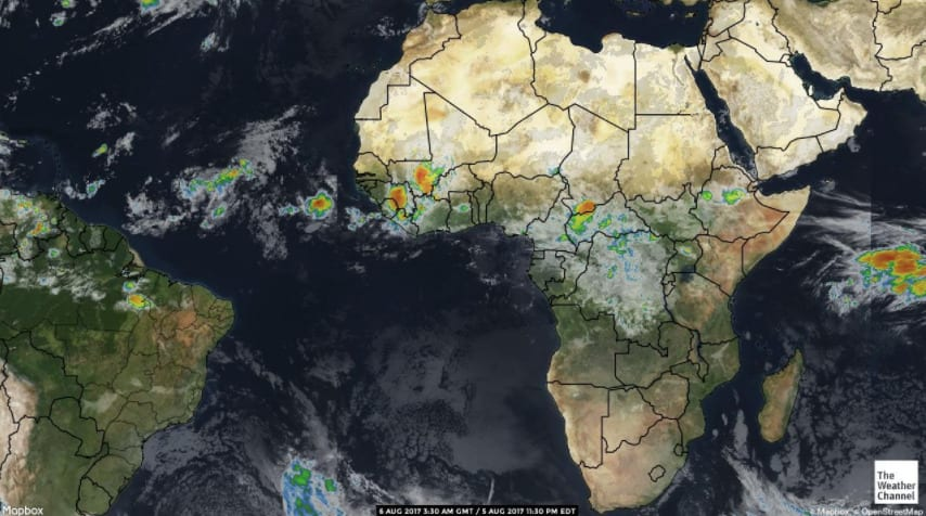 Western Africa is one of the most hostile places for life.