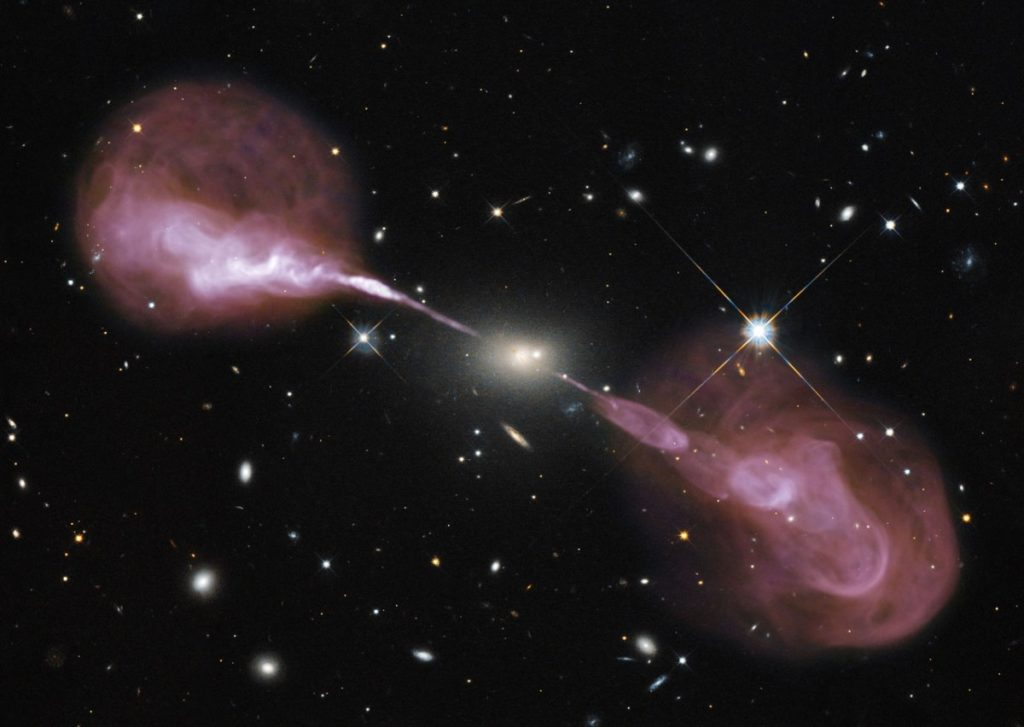 A Black Hole can attract other massive celestial bodies.