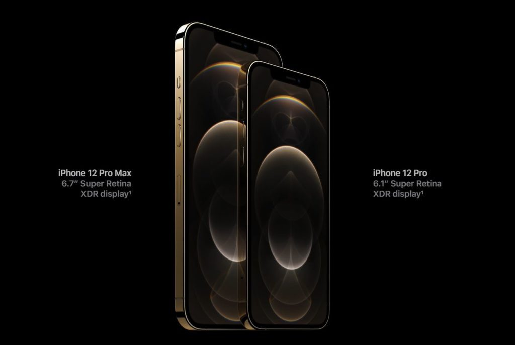 iPhone 12 Pro models come equipped with Super Retina XDR Display