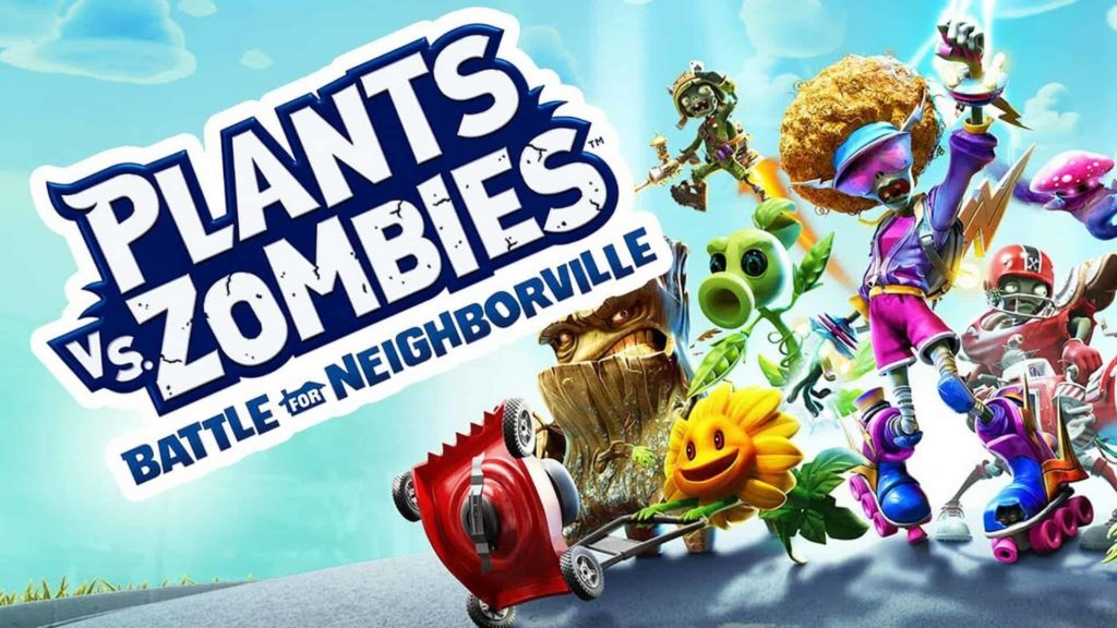 Plant vs zombies video game