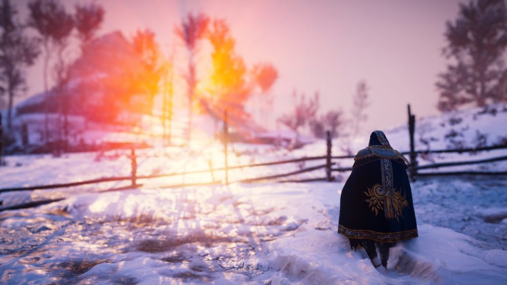 Norway Sunset in Assassin's Creed Valhalla