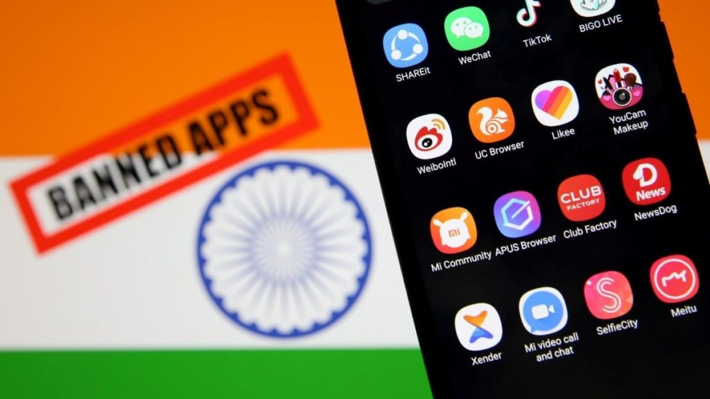 India has banned a ton of Chinese apps