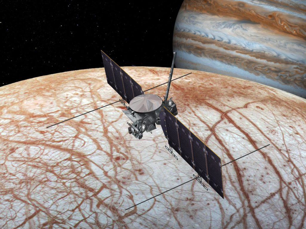 Ice on Europa's surface could hold the key to a lot of new discoveries.