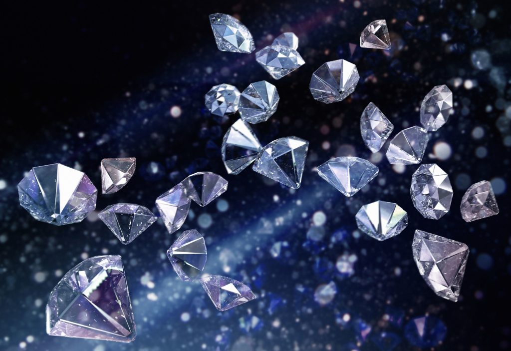 Diamonds are considered the hardest naturally occurring material.
