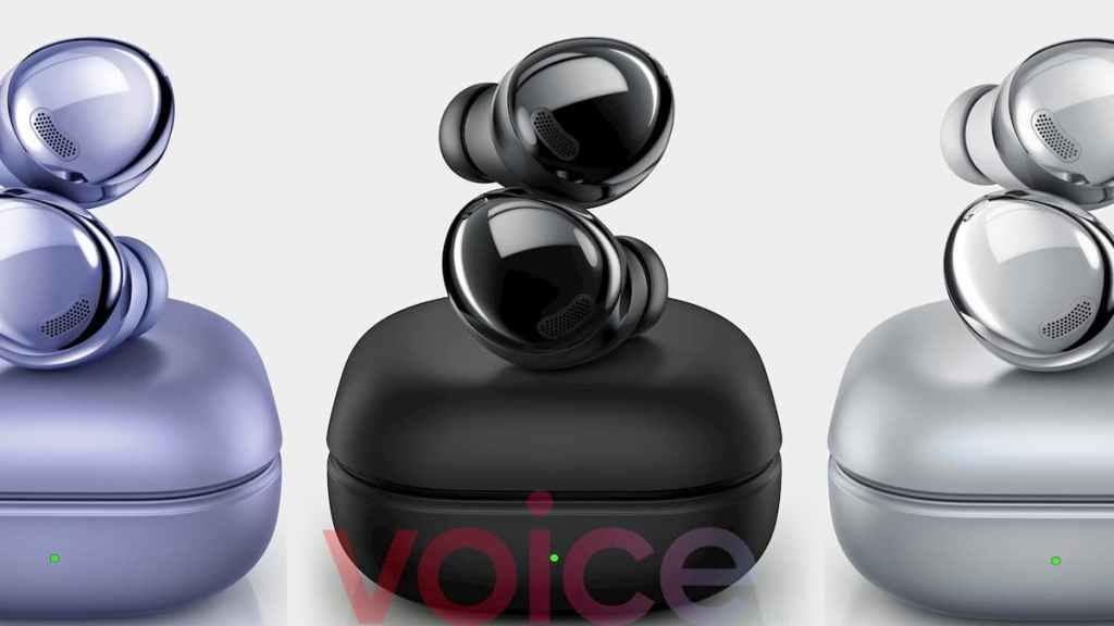 Samsung Galaxy Buds Pro in 3 colours