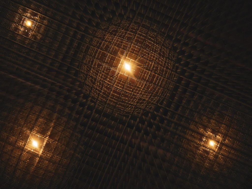 Polarons have been observed in Perovskite lattice.