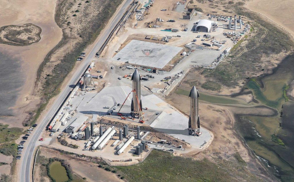 SpaceX launch pad