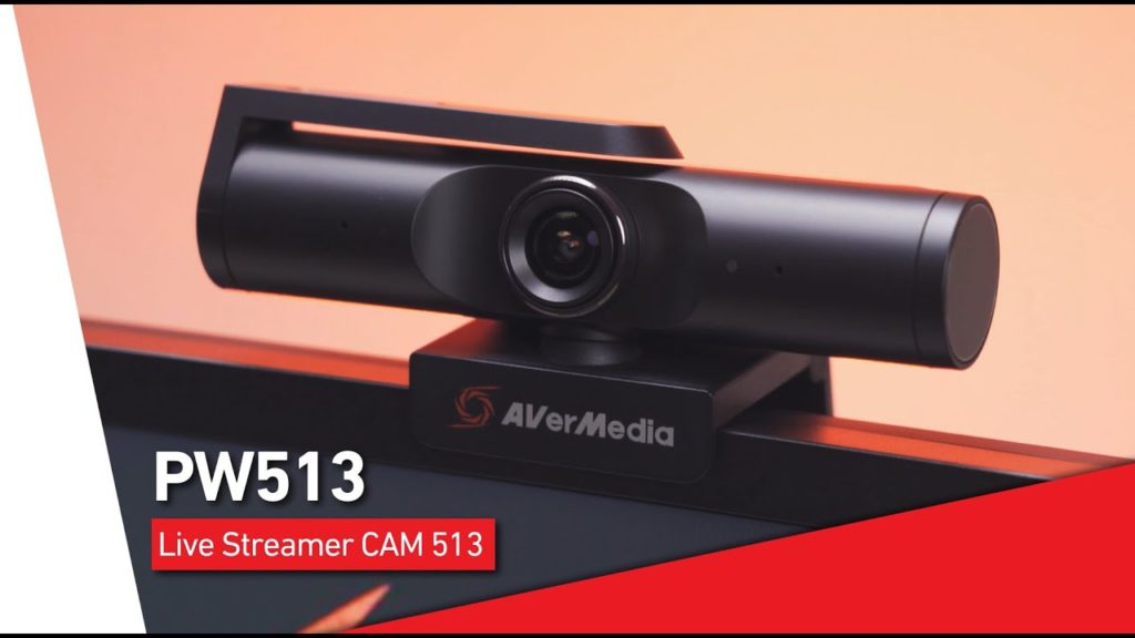 AVerMedia Live Streamer CAM 513 (PW513) 4K Webcam