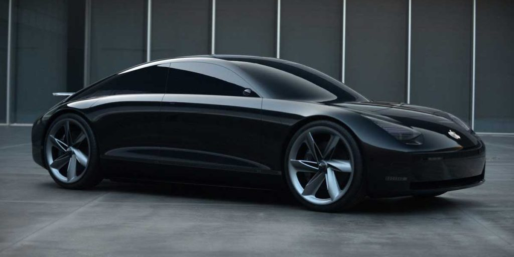Hyundai Prophecy concept car that was earlier rumored to influence Apple Car