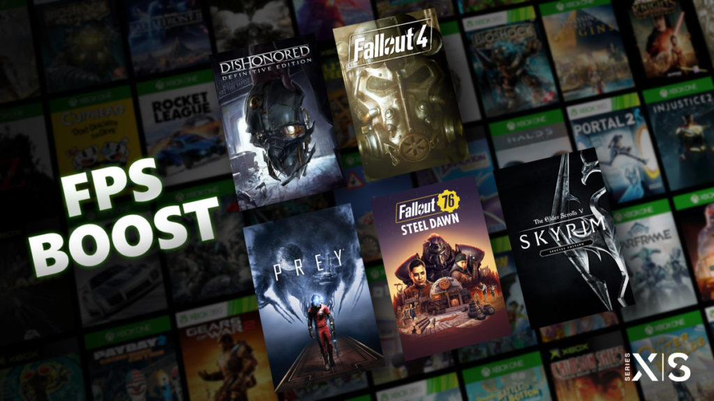 Five Bethesda titles get the FPS boost feature on next-gen Xbox consoles.